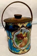 Murray-Allen Imports Confection Tin Candy Pot, Vintage Container Made In England