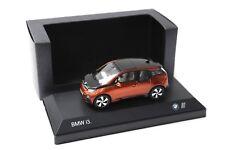 1:43 iscale bmw i3 (i01) 2013 solar Orange sp dealer New en Premium-modelcars