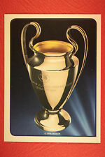 PANINI CHAMPIONS LEAGUE 2014/15 N. 2 THE CUP BLACK BACK MINT!