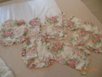 Laura Ashley Country Rose Roses Fabric Material Pink  Shabby Chic  Craft Use !