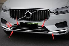 6PCS Stainless steel Car Styling Center Grille Grill For Volvo XC60 2018 2019