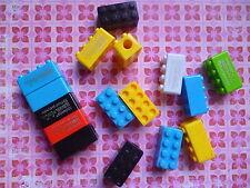 taille-crayon amusant LEGO bloc construction fourniture scolaire