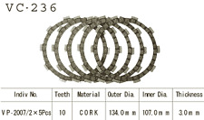80-81 Yamaha DT125  Vesrah Friction Clutch Plate Set (5 Plates) VC-236