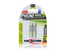 ANSMANN DECT NiMH Micro AAA 550mah 1.2v 2er Pack