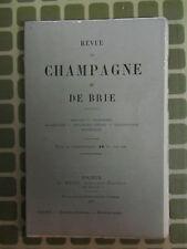 Revue de Champagne et de Brie août 1877 Norblin Les monnayers de Troyes