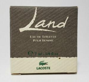 New Lacoste Land edt pour homme 7ml / 1/4 oz Mini