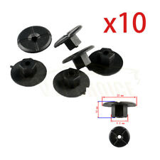 10 Plastic Unthreaded Nylon Nuts 4.2mm hole & large 24mm collar For Mercedes BMW
