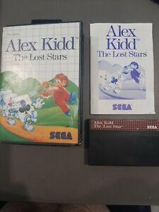 ALEX KIDD THE LOST STARS -  SEGA MASTER SYSTEM CIB COMPLETE