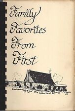 *KALAMAZOO MI 1979 FAMILY FAVORITES RARE COOK BOOK *FIRST ASSEMBLY OF GOD CHURCH