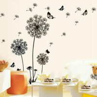 Large Dandelion Flowers Wall Stickers Vinyl Art Mural Decal Home Bedroom Decor