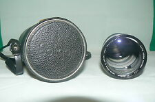 Objectif SOLIGOR AUTO ZOOM MACRO 1:3,5 f= 75-205 mm 62 ° LENS + boitier Japan