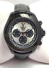 Orologio uomo Toy Watch chrono nero e argento - TGL07BK - nuovo