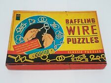 Lagoon Group Baffling Wire Puzzles Twisted Classic Puzzles Challenge Skill Toy
