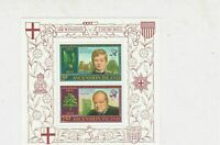 Ascension Island 1974 Centenary Sir Winston Churchill MNH Stamps Sheet Ref 27127