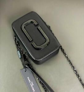 NWT Marc Jacobs The Hot Shot DTM Mini Crossbody Bag - Black