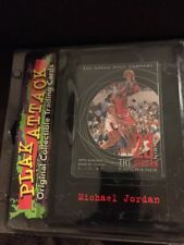 PLAK ATTACK Upper Deck MICHAEL JORDAN 1997 Fair Field Collectible Plaque NEW