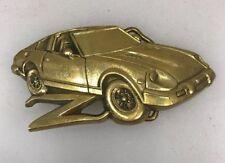 Datsun 240Z 260z 280Z 280ZX 1980 Baron Brass Belt Buckle