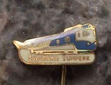 Antique Czech Railways CSD Locomotive Repair Sheds Sumperk Depot Pin Badge