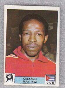 Sticker boxing ORLANDO MARTINEZ Cuba Olympic games Montreal 1976 Panini D novine