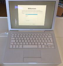 Apple MacBook a1181 (13,3 Pouces) ordinateur portable (Late 2006) - blanc/Batterie DÉFECTUEUX