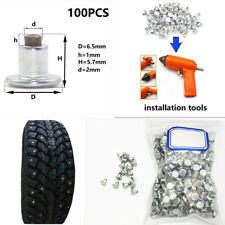 Car Bike ATV Tires Studs For Holes Tire Screw Snow Spikes Wheel Tyre Chain Studs