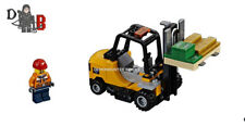 LEGO City Cargo train 60198 Forklift and Money only - No Powered UP included