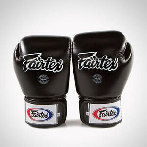 "FAIRTEX-BGV1 Boxing Gloves Muay Thai MMA Sparring ""Tight Fit"""