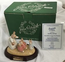 Beswick Beatrix Potter Mrs Rabbit And The Four Bunnies (P3672) - Limited Edition