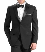 Men's Tuxedo with Flat Front Pants. 48L Jacket & 42 Pants. Formal, Wedding, Prom
