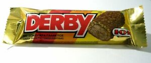 ION Derby - Greek Traditional Chocolate Bar with Crisped Rice and Coconut (20 Ba