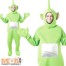 Dipsy Green Teletubby Adult BBC Licensed Fancy Dress Teletubbies Unisex Costume