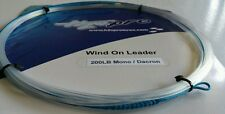 1X 200lbs wind-on leader 23 feet long. hand made by H2Opro