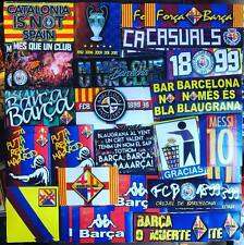 100 x Barcelona Stickers Based on Ultras Poster Badge Scarf Flag FCB Camp Nou FC