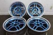 Porsche Fikse Profil 5S 18x10 18x12 3-Piece Forged Racing 911 964 996 997 Blue