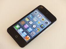 Apple iPod touch 4. Generation Schwarz (16GB) A1367 gebraucht Sprung #CCQJQ