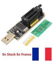 USB Programmer CH341A 24/25 Serie Graveur BIOS Writer SPI Flash + de bord U6N2