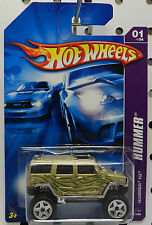 1 061 61 TAN GOLD H2 GM CHEVY HUMMER 2006 HW HOT WHEELS