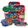 PJ Masks Party Supplies Tableware Kit for 8 Boys Birthday Cups Plates Napkins ++