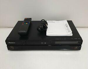 PIONEER DVR-LX60D DVD Recorder/Player 250 GB HDD DV S-Video AV Inputs w/ Remote
