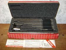 Starrett Id Inside Micrometer No 124b With Case Amp Box