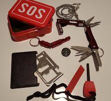 6 PC Kit Emergency Equipment SOS Kit Car Emergency Supplies SOS Outdoor US Ship