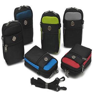 Waist Belt Bum Bag Sport Travelling 4 Tablet Phone Case Cover Molle Purse Pouch