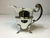 Antique Solid Silver Cream Jug 1919 Birmingham William Aitkin 117g