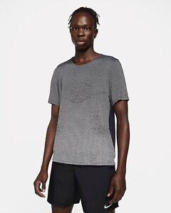 Nike 2021 Pinnacle Division Running Shirt - Men's Small ~ $80.00 DA0426 Black