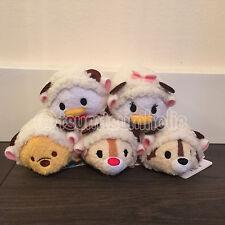 RARE Authentic Japan Disney Exclusive 2014 Sheep Tsum Tsum set of 5 NWT