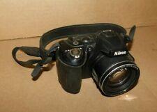 Nikon COOLPIX L120 14.1MP Digital Camera Black For Parts