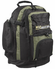 Mens Large Backpack Rucksack Bag SPORTS  FISHING HIKING SCHOOL WORK KHAKI 105-R2