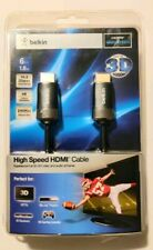 Belkin High Speed HDMI 3D Ready Cable 6 Feet NEW
