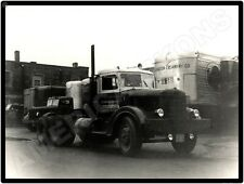 1930s PA Waynesburg Fairmont Creamery Company delivery trucks Photo