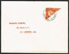 1941 Guernsey 2d Centennial Bisect on Cover Local Use Very Fine Used